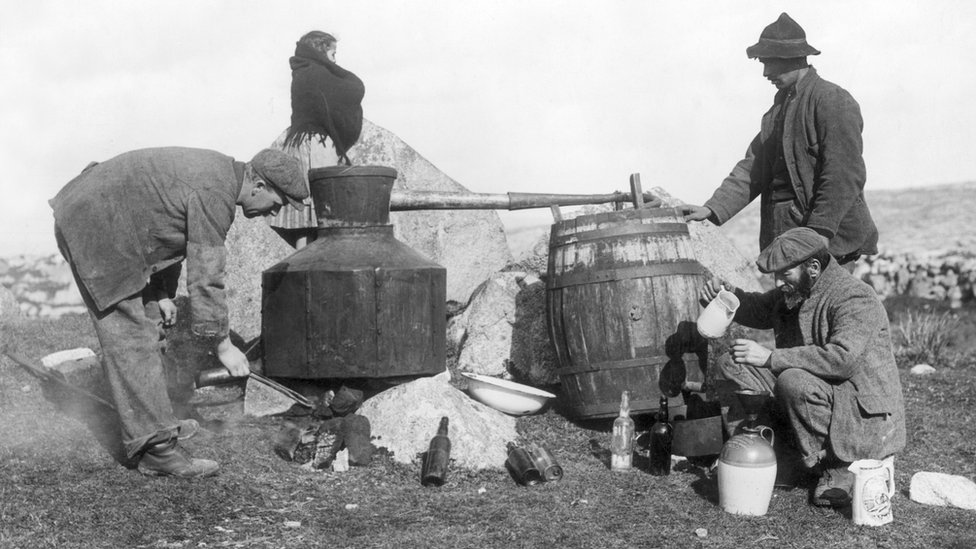 Illegal poteen production in 1912