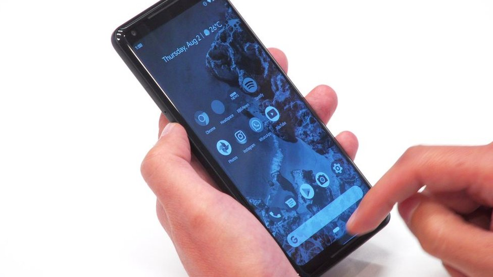 Android P modo escala de grises
