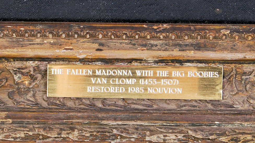 'Fallen Madonna with the Big Boobies' from 'Allo 'Allo