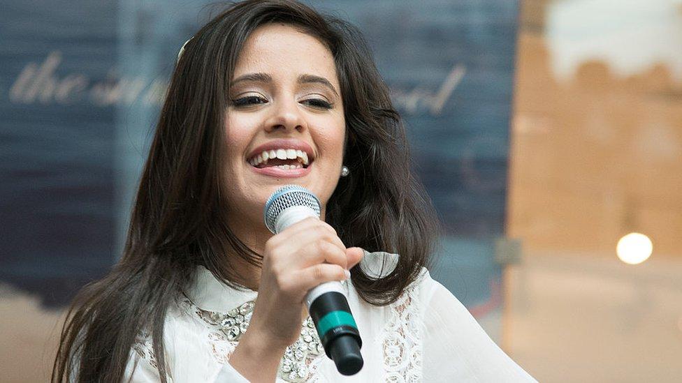 Camila Cabello en 2013.