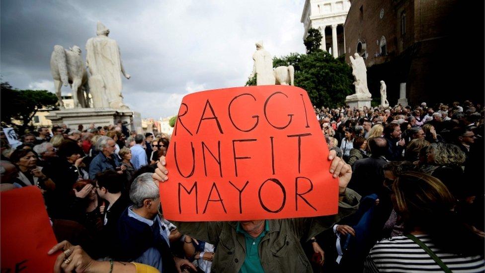 protest u Rimu u oktobru