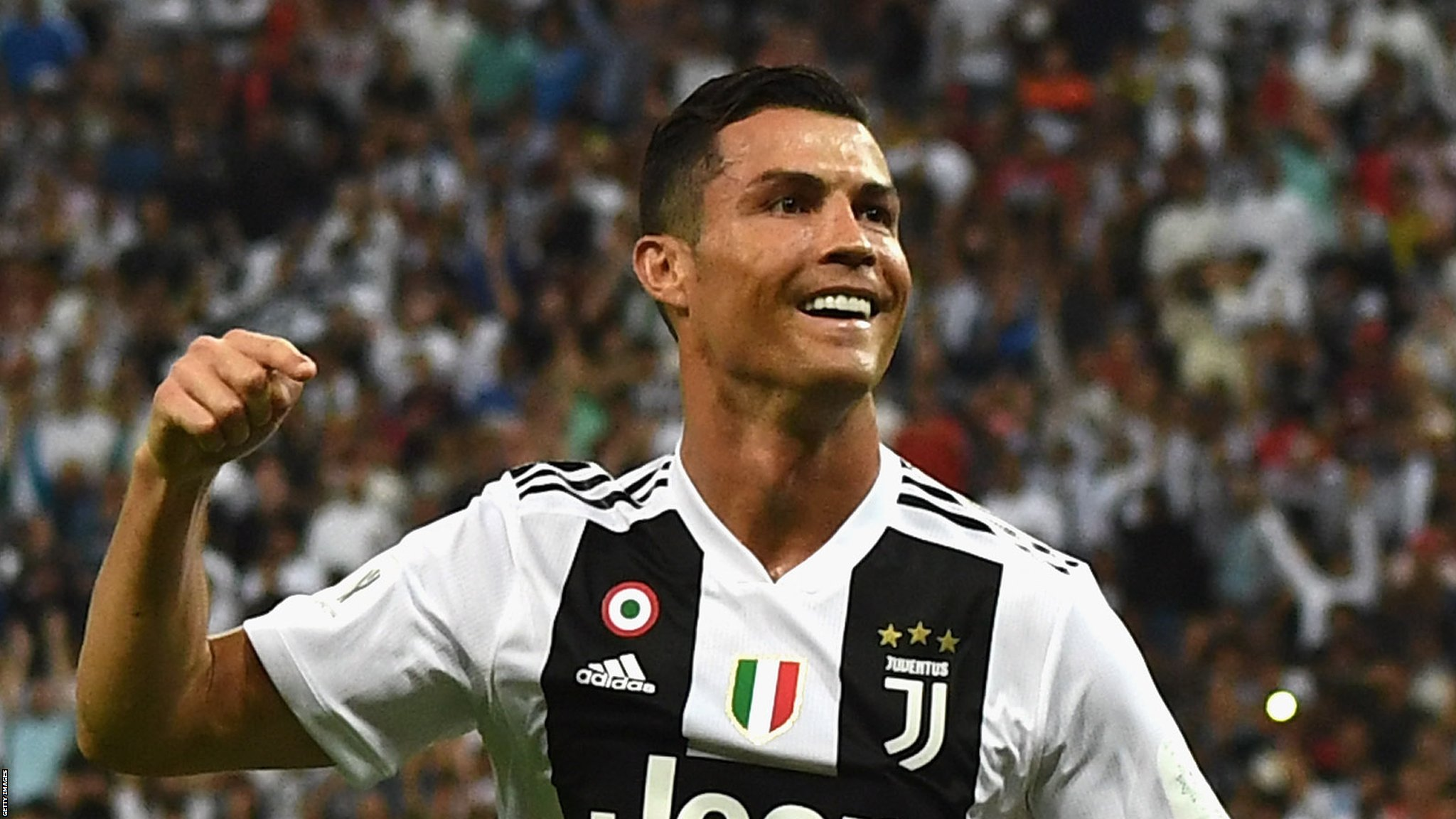 Juventus 1-0 AC Milan: Cristiano Ronaldo header wins Supercoppa for Juve