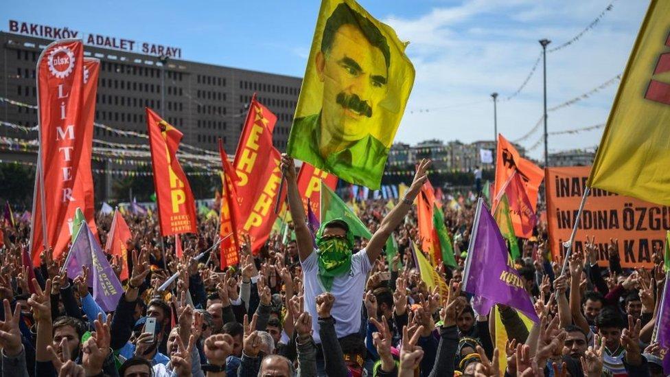 احتفالات عيد النوروز في اسطنبول، مارس/آذار 2018