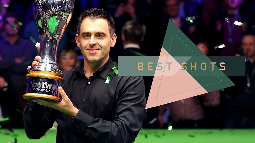 O'Sullivan makes history - watch the best shots
