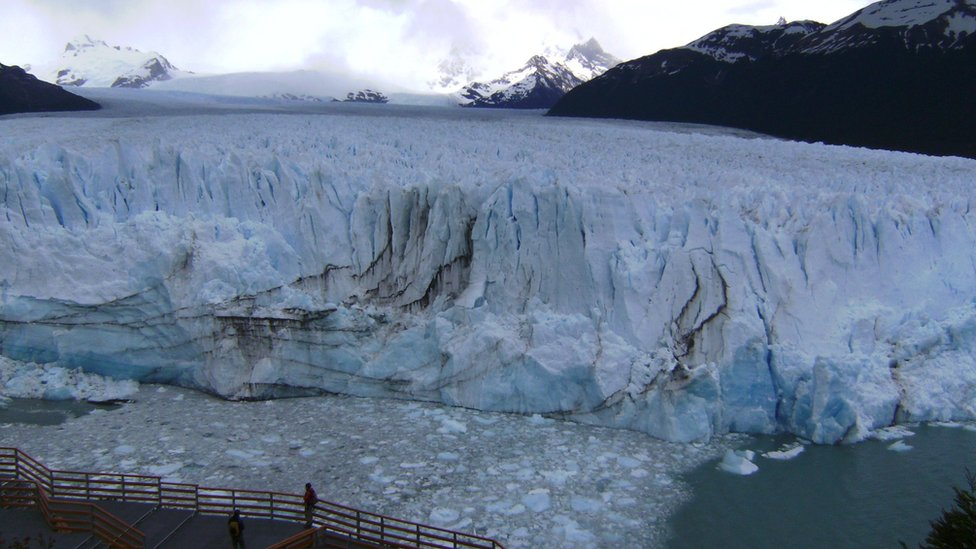 Frente del glaciar Perito Moreno. Noviembre de 2015.