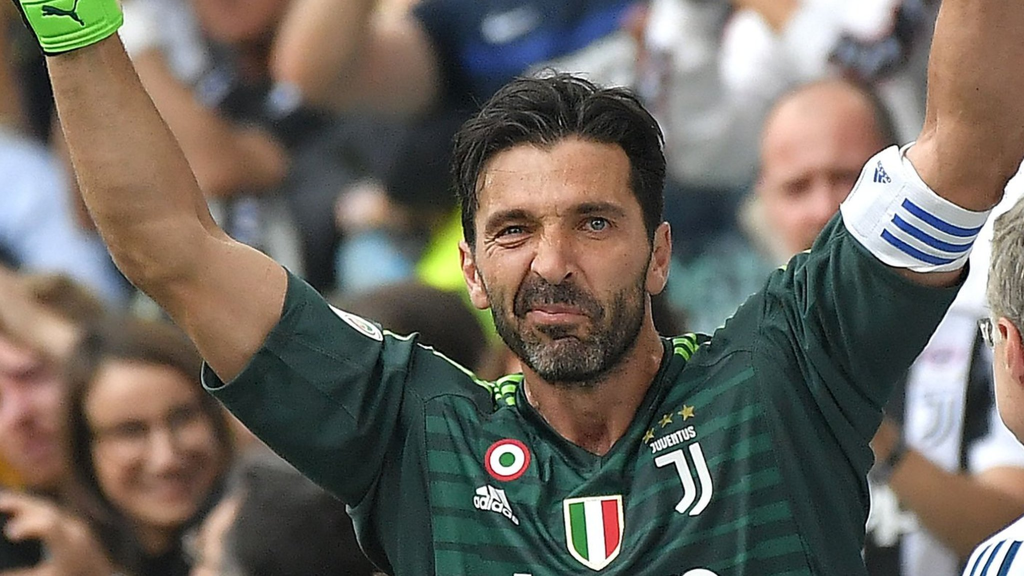 Buffon ends 17-year Juventus career with win