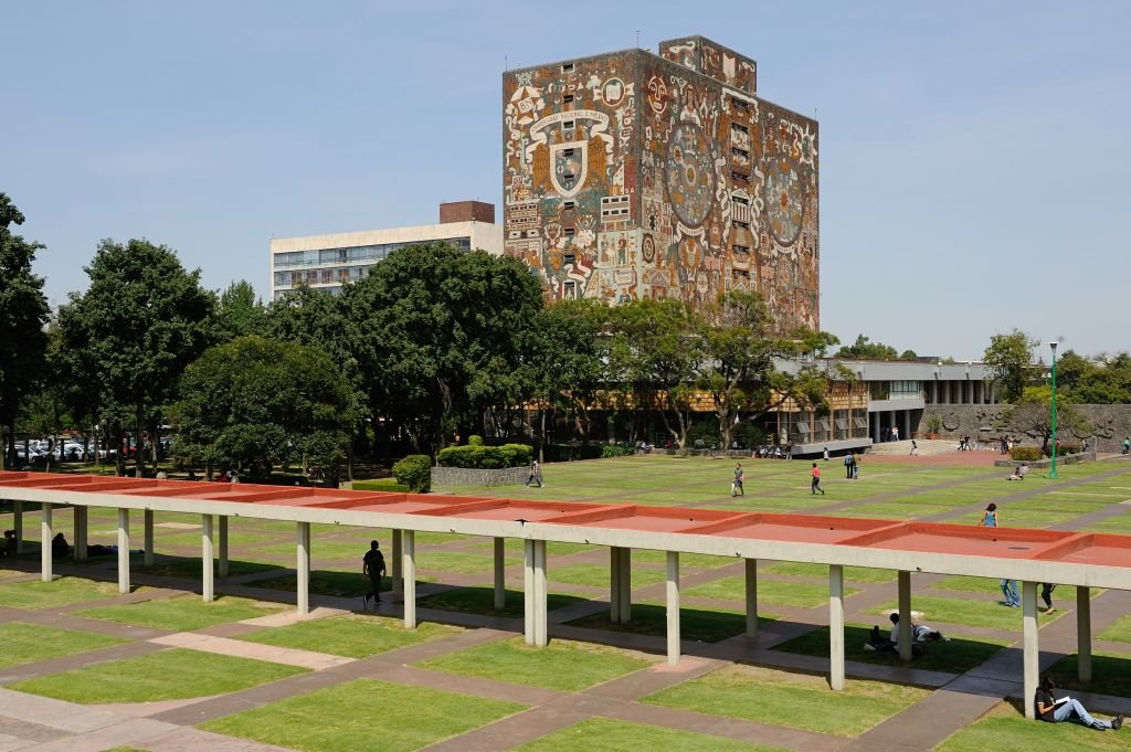 El campus central de la UNAM