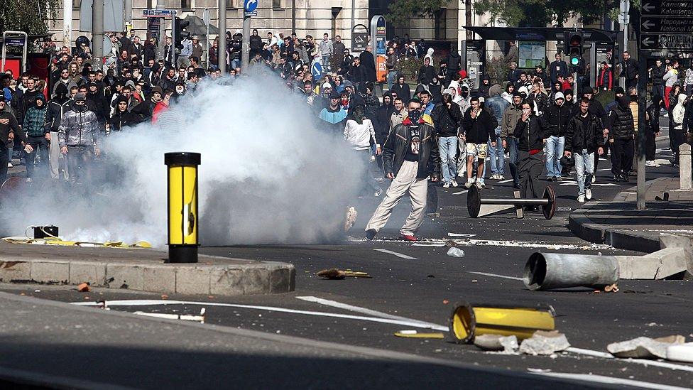 Nasilje na beoradskim ulicama 2010.