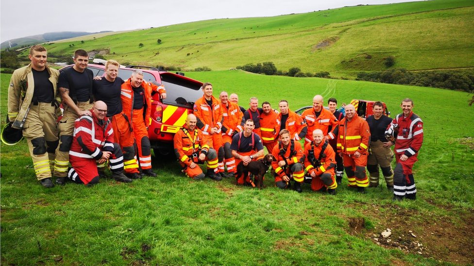 The Fire Service's All Wales Urban Search and Rescue Team (USAR)