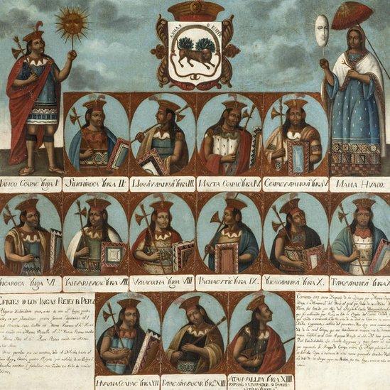 Genealogía inca