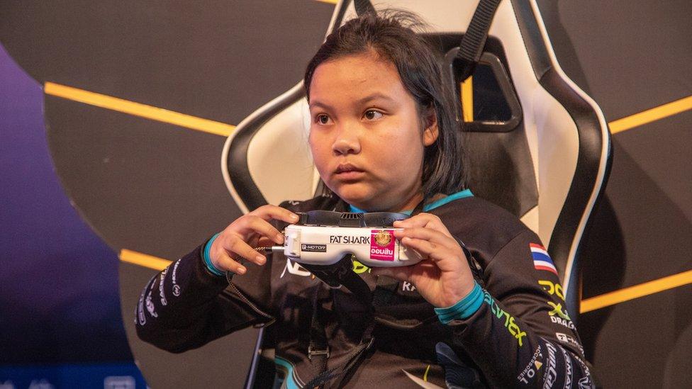 Drone racer Wanraya Wannapong