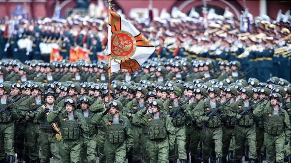 俄羅斯閲兵