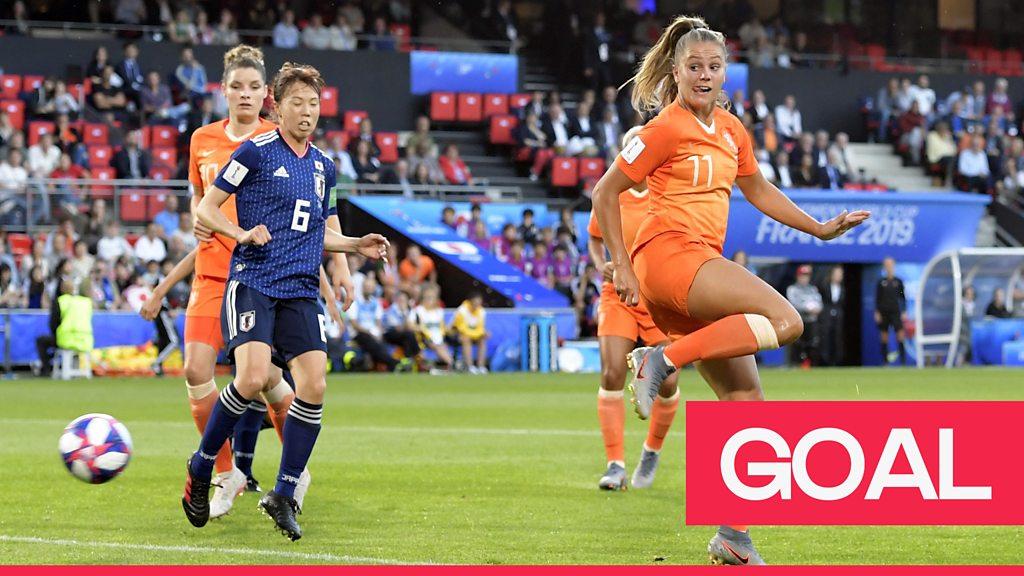Women's World Cup 2019: Netherlands lead through clever Lieke Martens flick