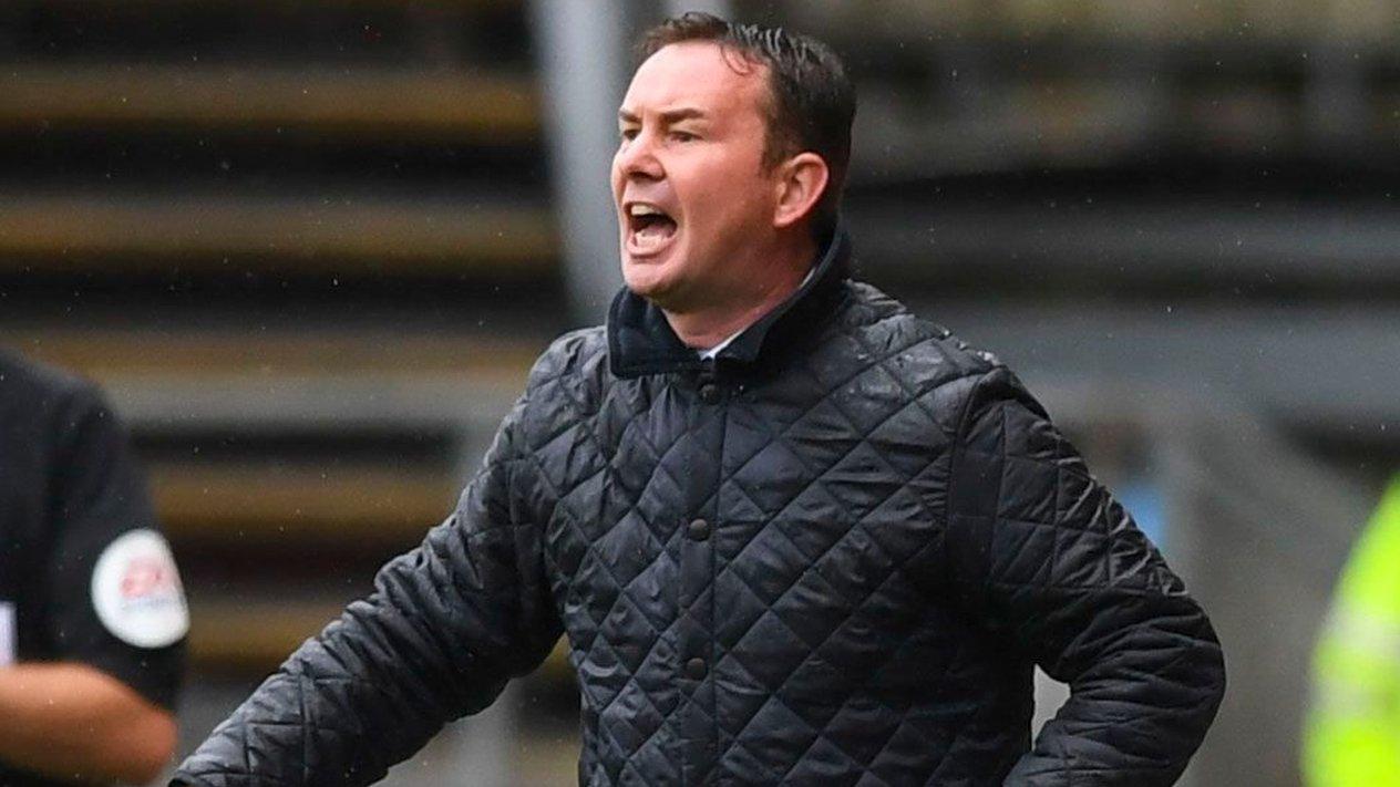 Derek Adams: Plymouth Argyle boss confident fortunes will turn around