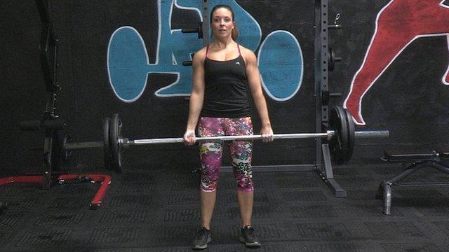 Powerlifter Alison Mackenzie