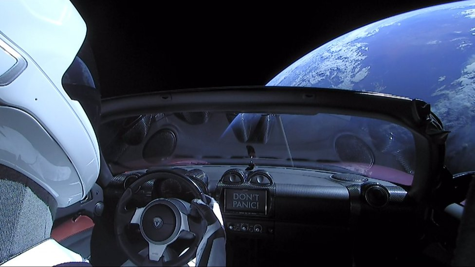 Elon Musk The Man Who Sent His Sports Car Into Space Bbc News