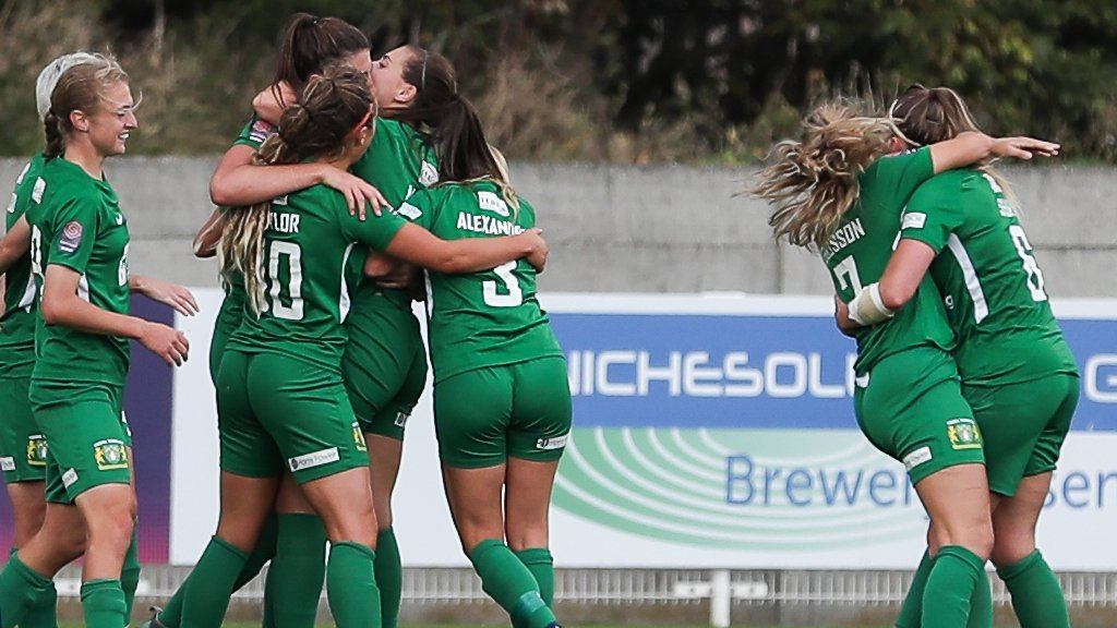 Yeovil Town Ladies 1-0 Everton Ladies: Yeovil win Women's Super League game for first time