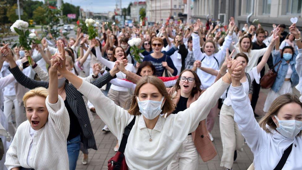 protesti u belorusiji