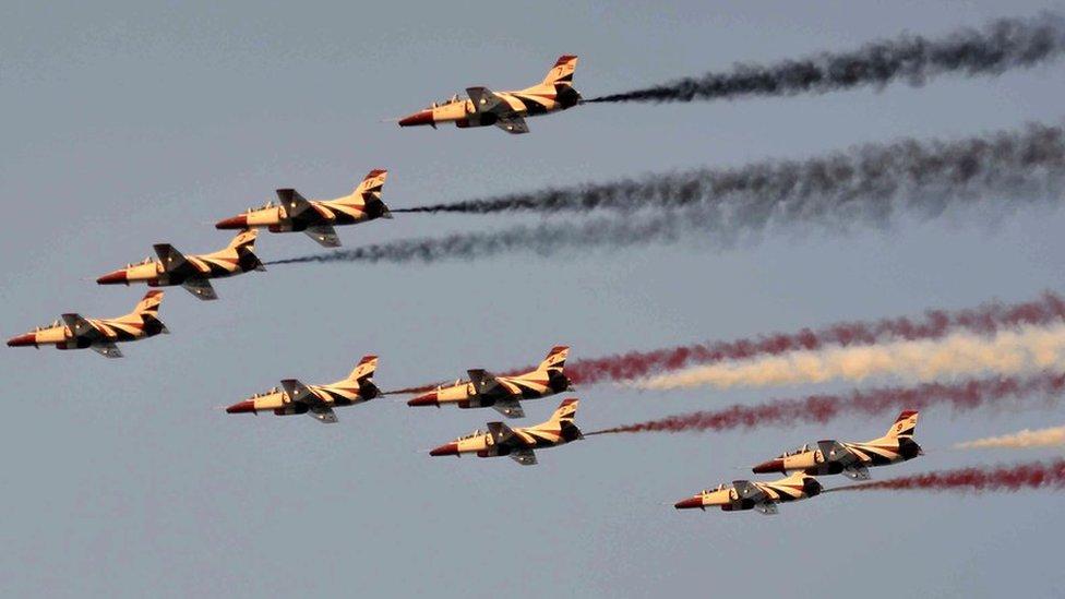 طائرات مصرية