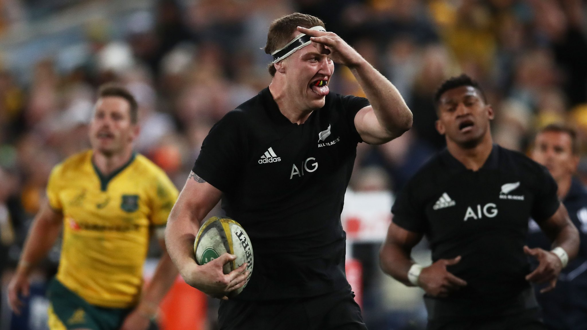 New Zealand beat Australia in Rugby Championship opener