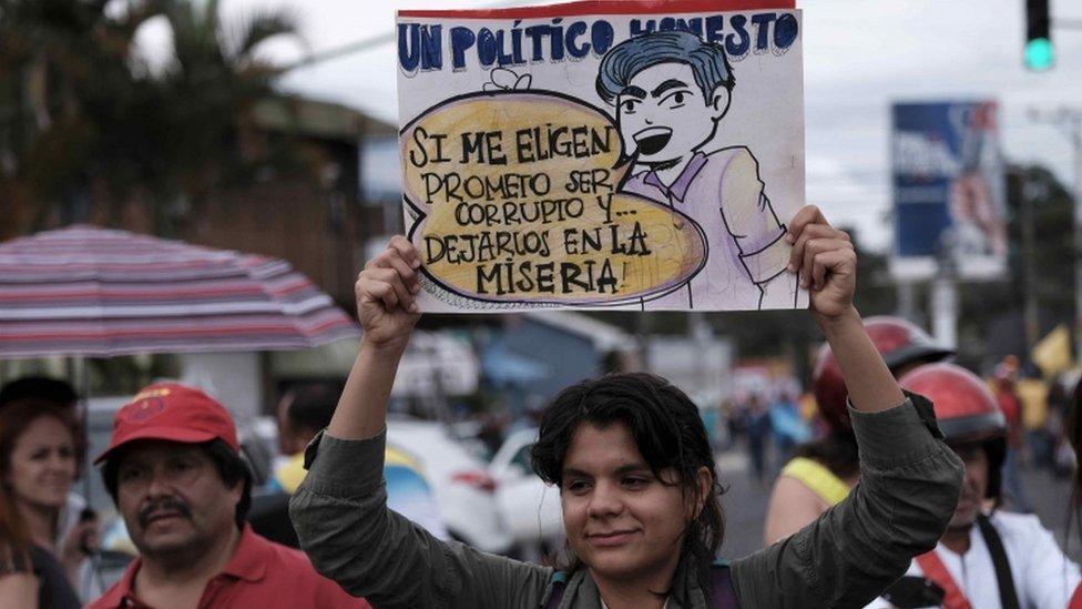 protesta Costa Rica.