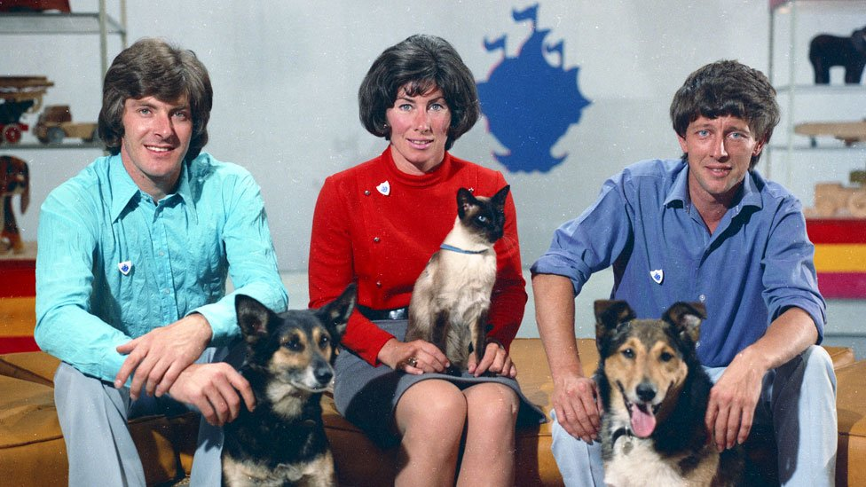 Celebrating 60 years of Blue Peter in pictures