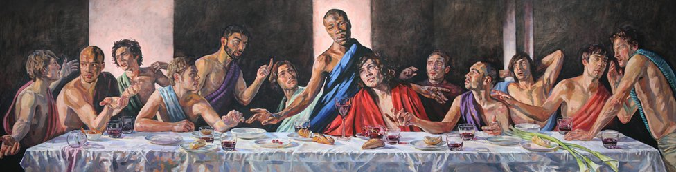 The Last Supper interpretation by Lorna May Wadsworth
