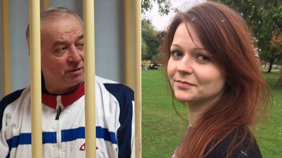 Sergej Skripalj i njegova ćerka Julija