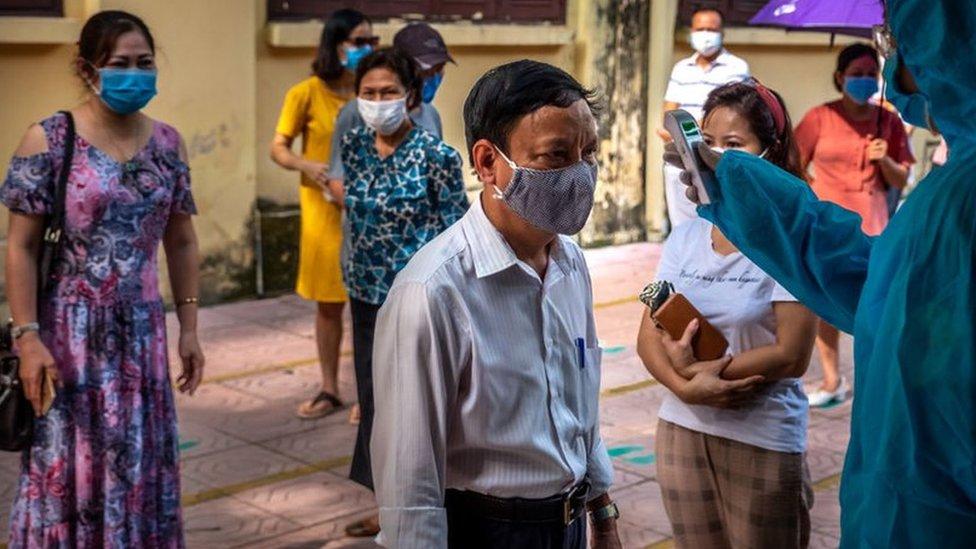 Coronavirus Vietnam The Mysterious Resurgence Of Covid 19 Bbc News