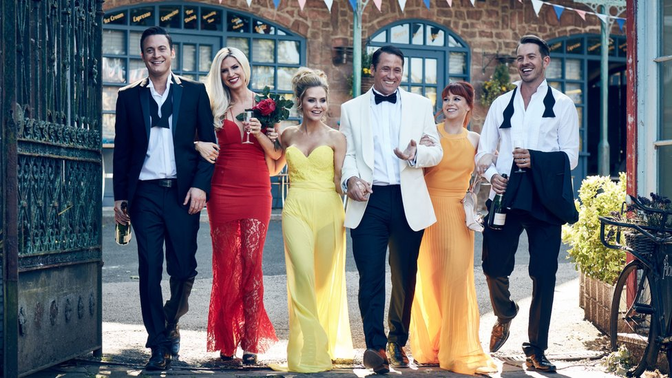 Hollyoaks cast celebrate 25 years