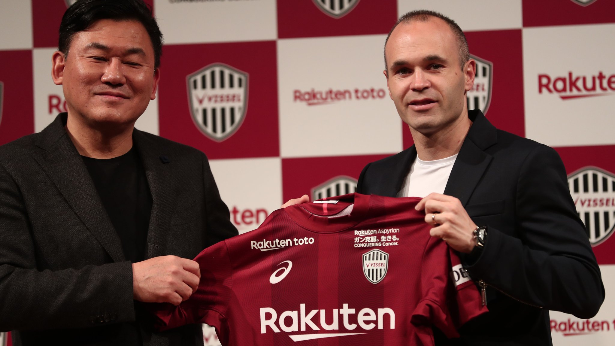 'I had a lot of offers' - Iniesta completes '$30m' move to Japan