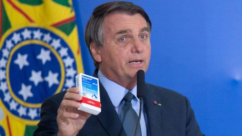 الرئيس البرازيلي، جير بولسونارو