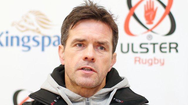 Allen Clarke is assistant coach of the Ulster team