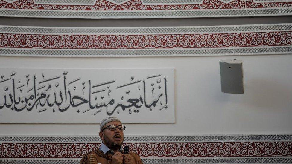 Musulmanes en Francia.