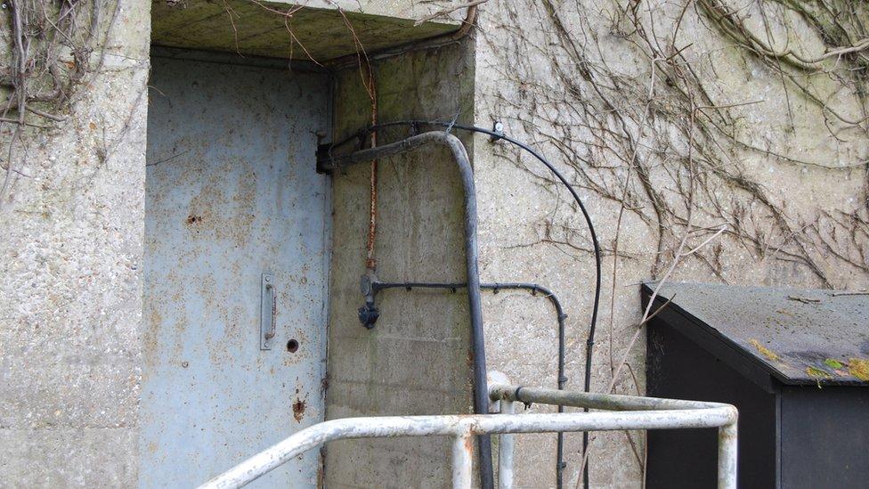 Cambridge nuclear bunker