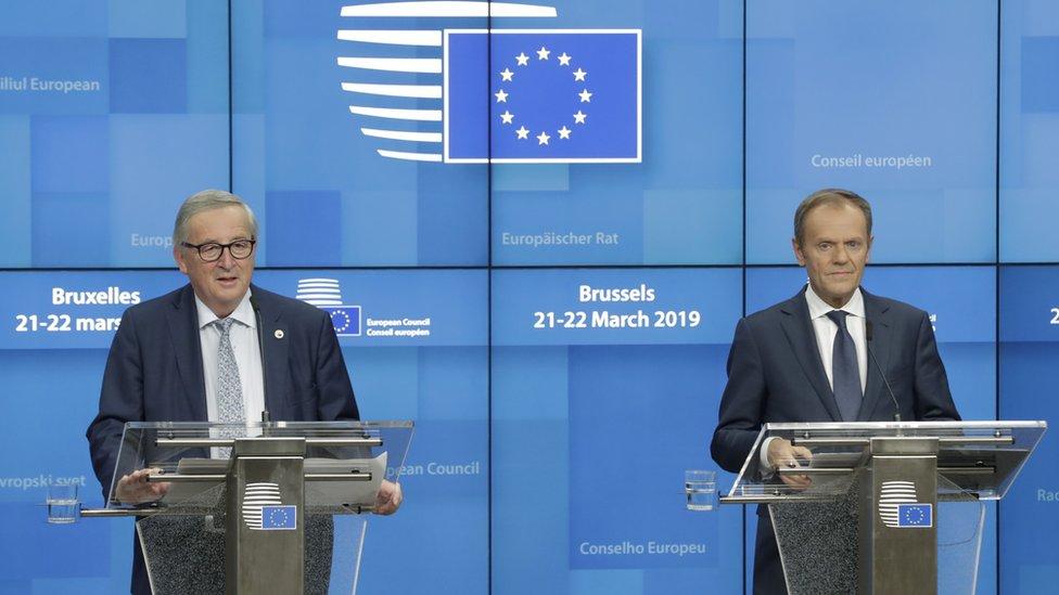 Juncker y Tusk