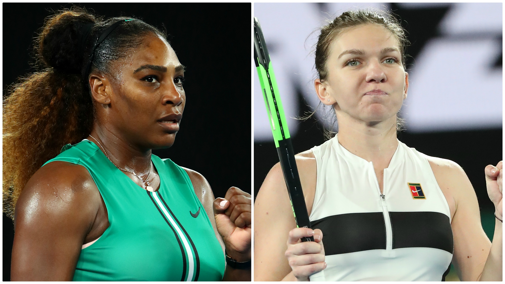 'Confident' world number one Halep ready to take on 'best in world' Williams