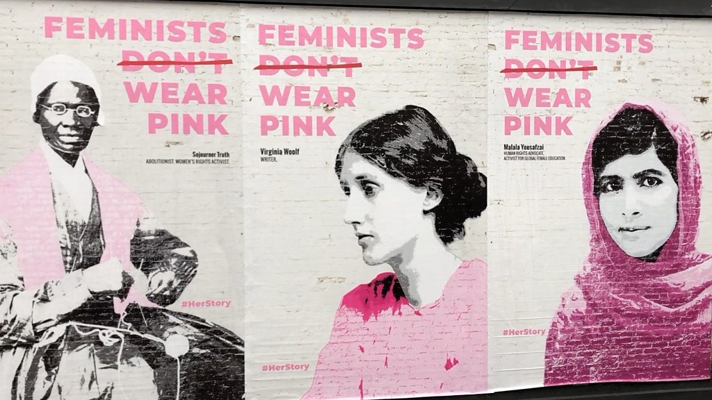 'Practising women's history is how I do my feminism'