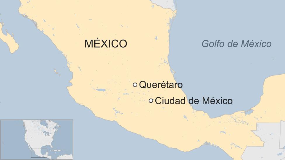 Mapa Querétaro