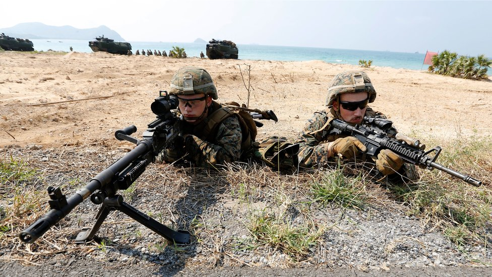 US soldiers in Thailand