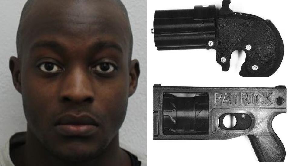 Man guilty of making a gun using a 3D printer