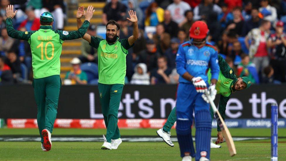 विश्व कप 2019: अफ़ग़ानिस्तान को हराकर दक्षिण अफ्रीका ने पहला मैच जीता