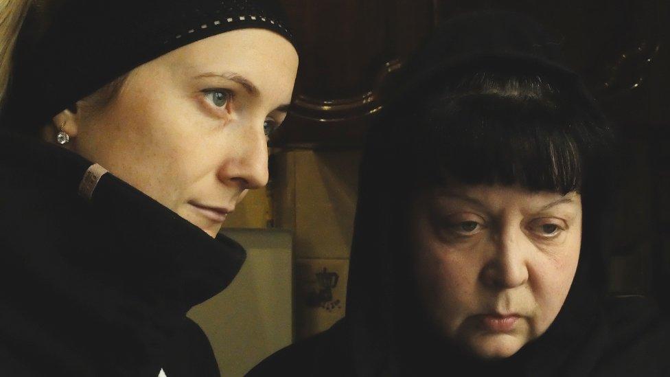 parnerka i majka ubijenog zatvorenika