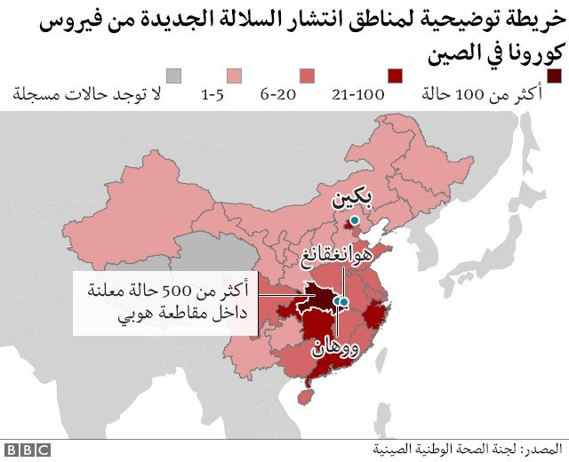 خارطة الصين