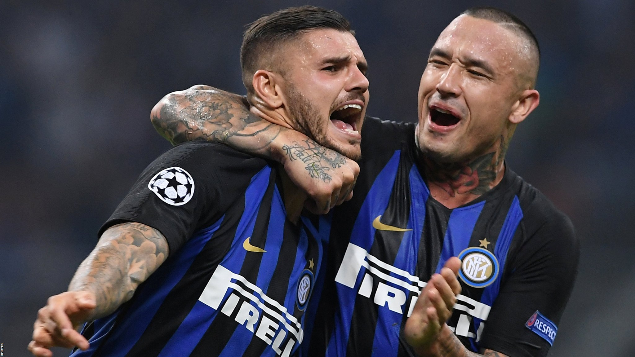 Inter Milan 2-1 Tottenham Hotspur: Inter stun Spurs with late fightback