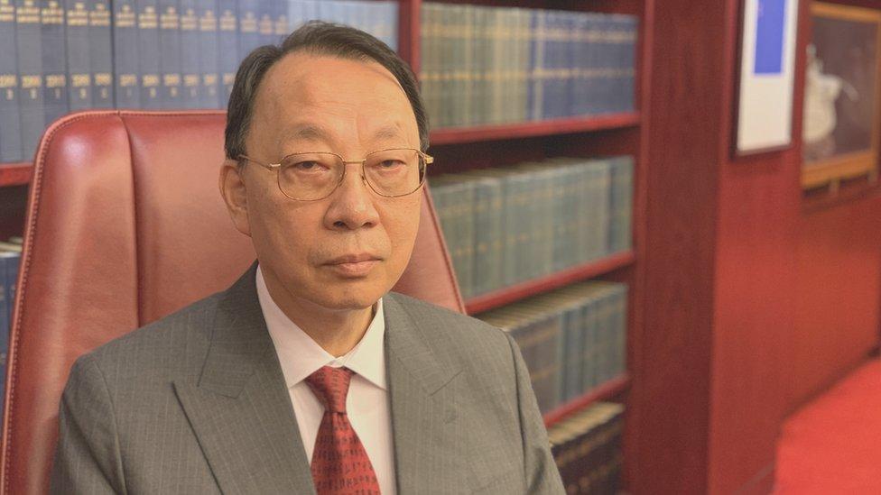 陳景生表示,去年的示威浪潮並非訂立《國安法》的借口。