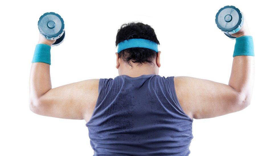'Fat but fit' still risk heart disease
