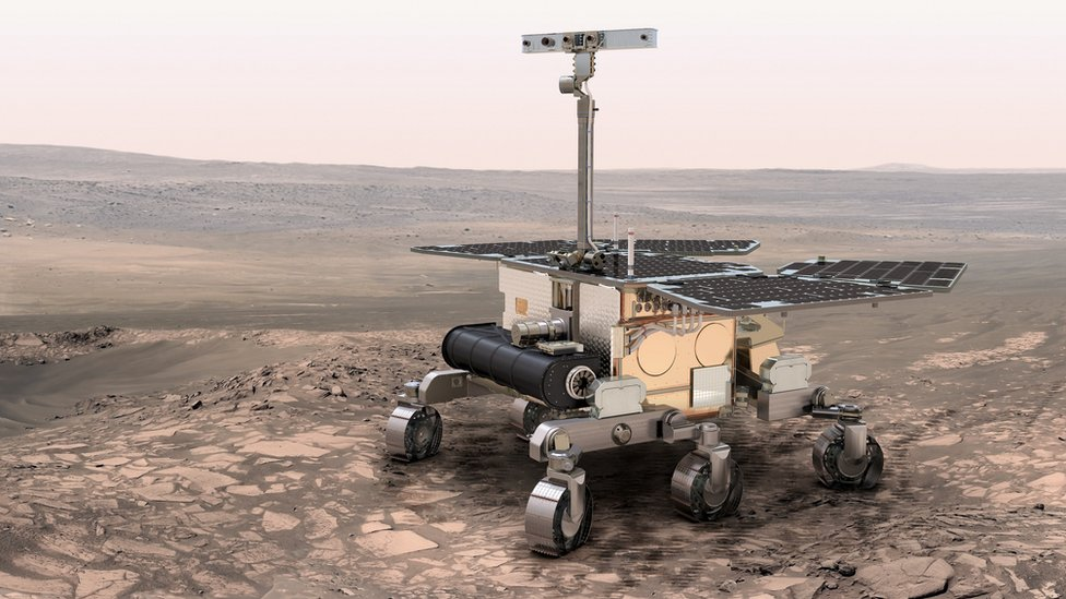 ExoMars: Life-detecting robot to be sent to Oxia Planum