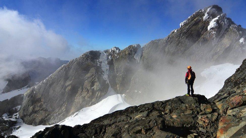 Pogled sa vrha planine Rvenzori