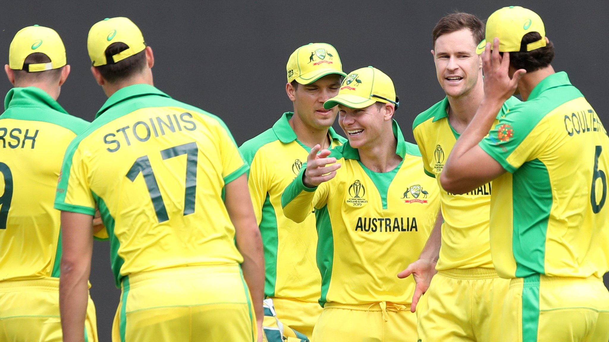 Smith's ton steers Australia to warm-up win over England